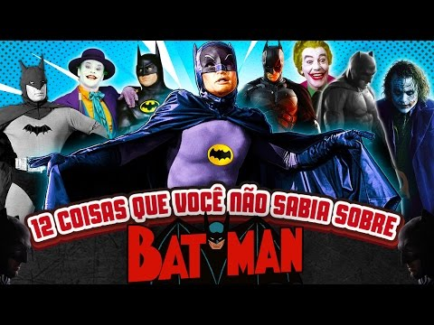 12 coisas que você não sabia sobre BATMAN