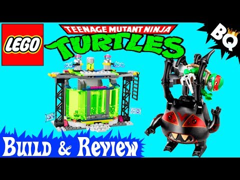 LEGO Ninja Turtles Mutation Chamber Unleashed 79119 TMNT Review