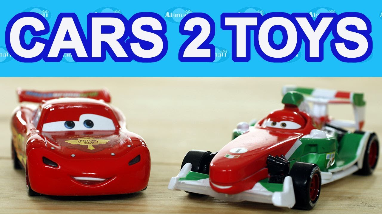 cars 2 movie toys lightning mcqueen francesco bernoulli toy review youtube. Black Bedroom Furniture Sets. Home Design Ideas