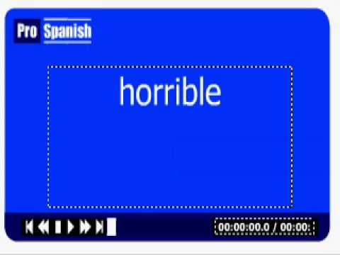 Learn Spanish  Level 1 Lesson 1 -InwRgN0pvfs