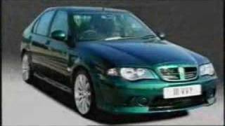 MG Rover brand values advertisment (model range 2004)