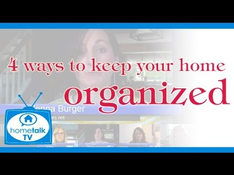 4 Clever Ways to Keep Your Home Organized