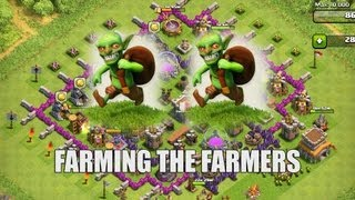 Clash Of Clans Part 30 Farming The Farmers