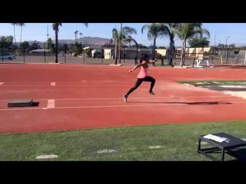 Triple Jump Drill - Tap Box Jump into Pit