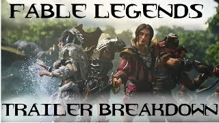 Fable Legends Trailer Breakdown  (E3 2014 Gameplay Trailer)