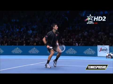 Rafael Nadal Vs Novak Djokovic Final HIGHLIGHTS ATP World Tour Finals 2013 HD