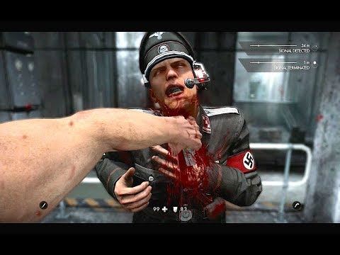 Sly Gameplay - Wolfenstein The Old Blood Epic Takedowns & Moments