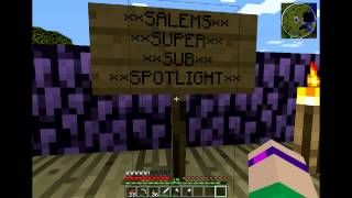 Minecraft PC: Salems Survival! [12] HAPPY BIRTHDAY TO ME