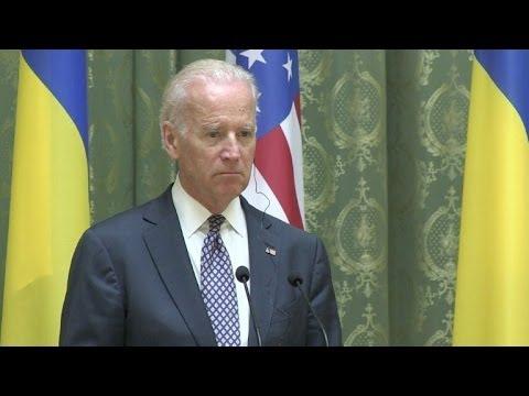 Ucrania: Biden respalda gobierno en Kiev