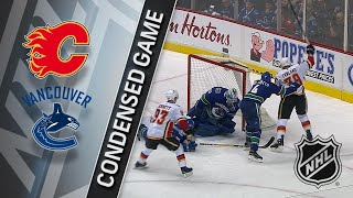 12/17/17 Condensed Game: Flames @ Canucks