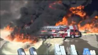 Massive Explosion And Chemical Fire At Waxahachie, Texas
