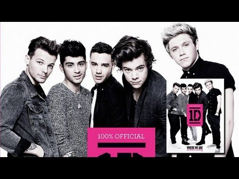 One Direction Book Cover - FIRST LOOK PHOTO!