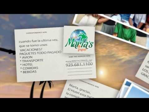 Martas travel postales de GRACIAS