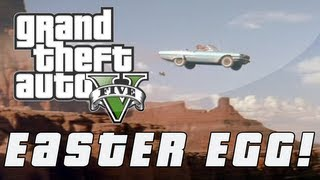 Grand Theft Auto 5 Thelma & Louise Ending Easter Egg