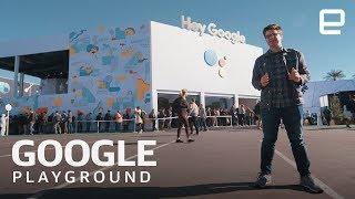 Inside Google's Insane Playground Installation at CES 2019