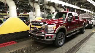 Kentucky Ford Truck Plant & Super Duty 2014
