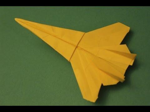 paper fighter jet f15 eagle