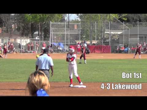High School Softball: Lakewood vs. Long Beach Wilson