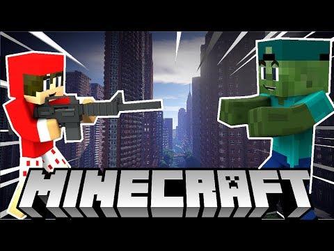 Minecraft Ngày Tận Thế Tập 1 -  Đại Dịch Bắt Đầu