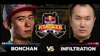 Red Bull Kumite 2016 : Bonchan vs. Infiltration - Winners Semi