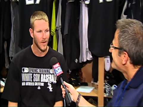 Fox 32's Lou Canellis talks with Chicago White Sox pitcher Chris Sale on The Final Word 2-16-14