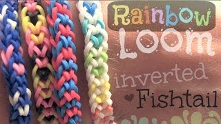 Rainbow Loom : Inverted Fishtail Bracelet How To
