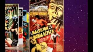 Classic MEXICAN HORROR Movie Poster Slideshow (1950 1975