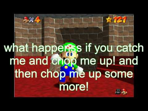 super mario 64 bloopers: luigi and the haunted castle