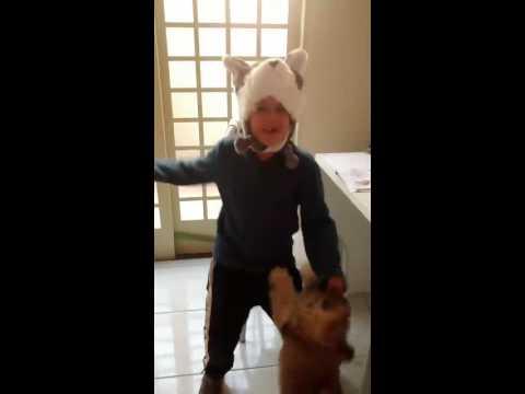 Dança da raposa com o ratão do banhado