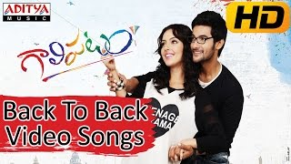 Galipatam Movie Back To Back Video Songs || Aadi, Erica Fernandes, Kristina Akheeva