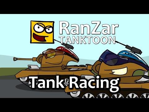 Tanktoon - Preteky tankov