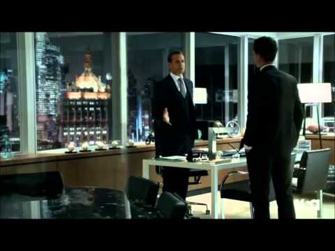 Suits - Harvey / Mike - Shut up!