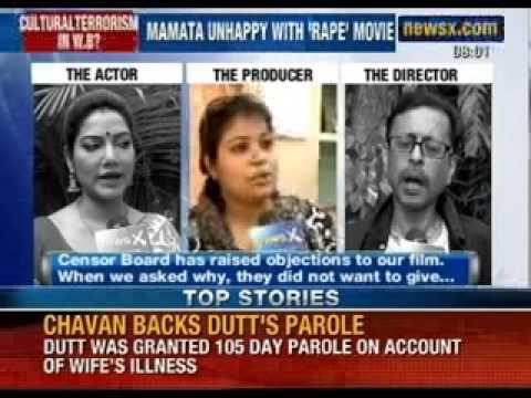 Mamata Banerjee unhappy with 'Rape' movie