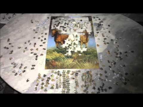 Puzzle # Wild Horses (1.000 Pieces) // Cavalos Selvagens (1.000 Peças)