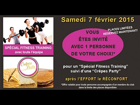 FITNESS CRÊPES PARTY