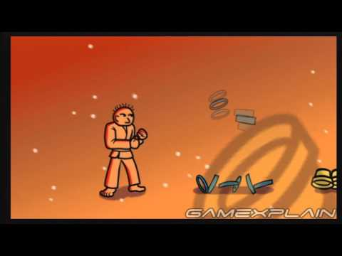 Rhythm Heaven Fever - Karate Man 2 (English) Gameplay Footage (Nintendo Wii)