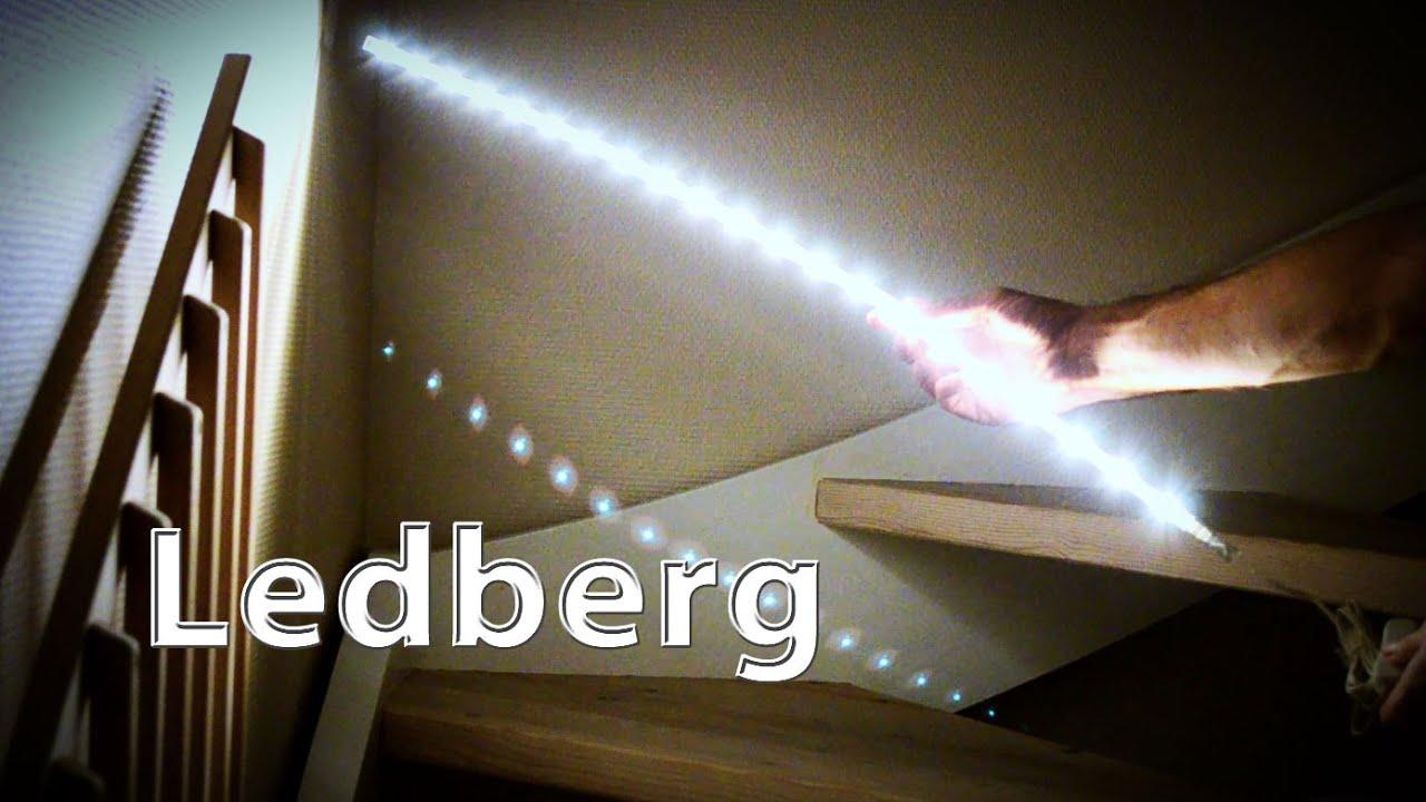 IKEA LED In Shed  Ledberg Strips - YouTube