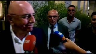 Galliani: 'Montella un grande allenatore, su Gancikoff...'
