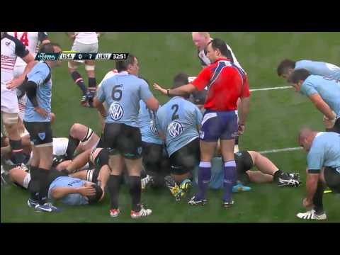 RWCQ Americas Play off 2nd leg USA v Uruguay