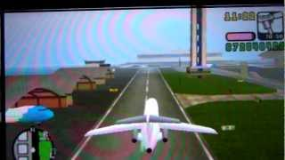 Avion Airbus Gta Vice City Stories PSP