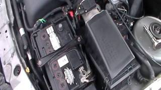 Resetting Ford Contour Computer