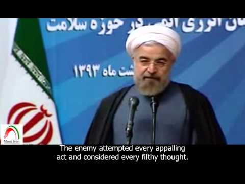 [English sub]. Rouhani: We will not be subjected to nuclear apartheid.