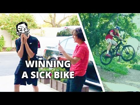 Mountain bike surprise! - The first winner