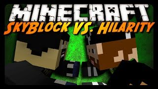 Minecraft: ULTIMATE SHOWDOWN - Skyblock VS! w/ CavemanFilms