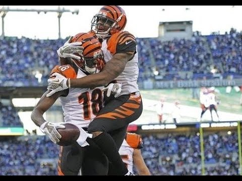 Baltimore Ravens beat Cincinnati Bengals 20-17! AJ Green Catches Hail Mary TD!