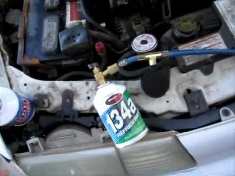 How To Charge Auto A C Systems Backyard Style Car Ac Fix
