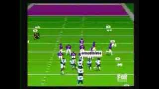 Madden '95 Genesis (Bears Vs Vikings)
