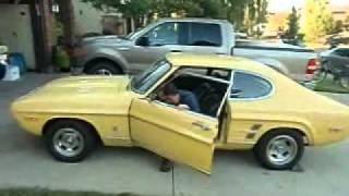 Test Drive the 1974 Ford Capri V8!