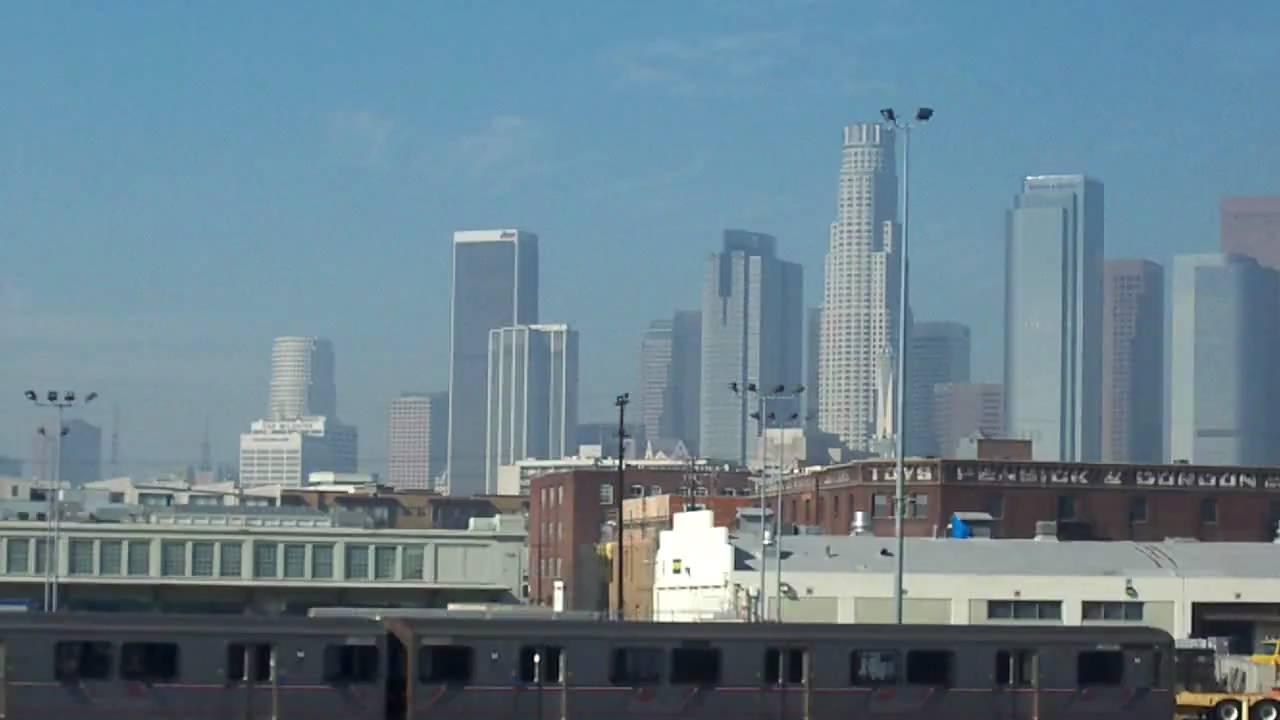 los angeles skyline view - photo #33