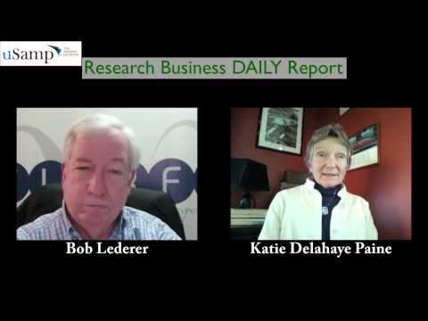 KD Paine's Google Glass exposure & what the tool may mean to MR (RBDR--11/25/2013)
